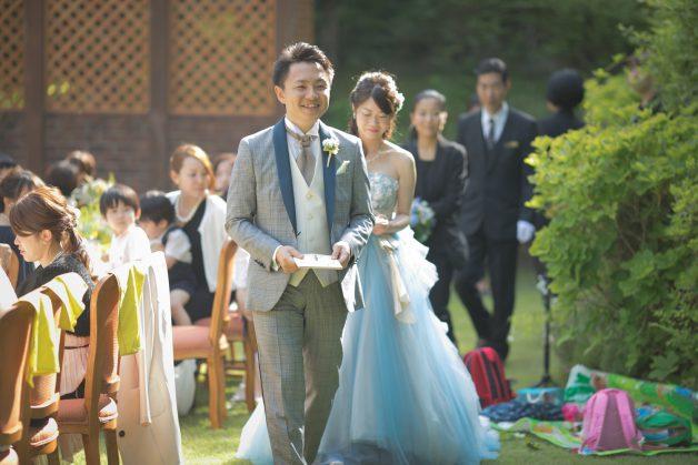 結婚式お開きの写真です