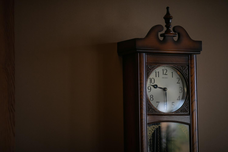 古時計の写真です